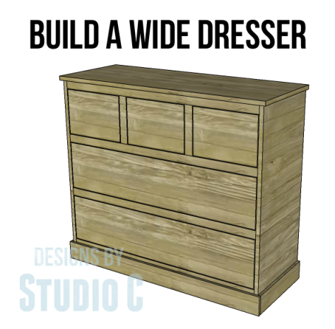 wide chest drawers plans_Copy