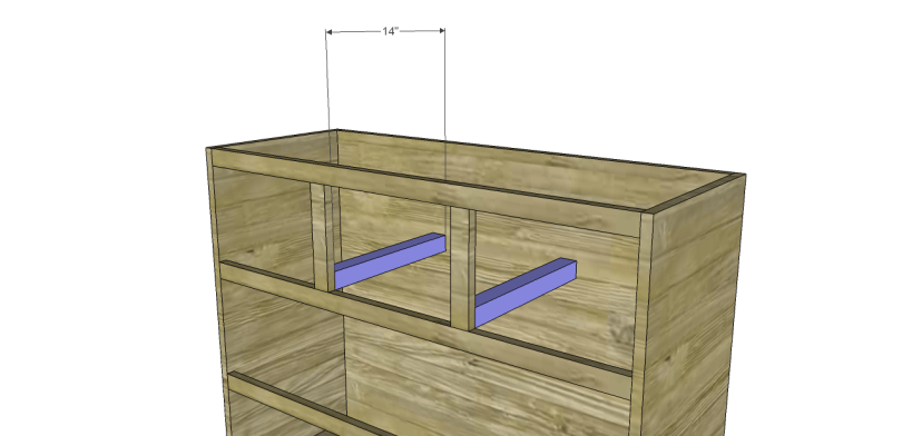 wide chest drawers plans_Slide Supports