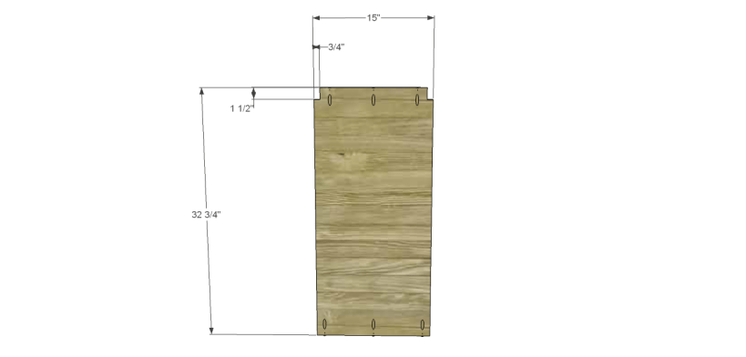 diy pantry armoire plans_Lower Divider 1