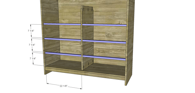 diy pantry armoire plans_Lower Stretchers