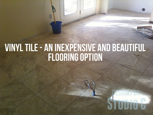 installing vinyl tile with grout Photo11201003 copy