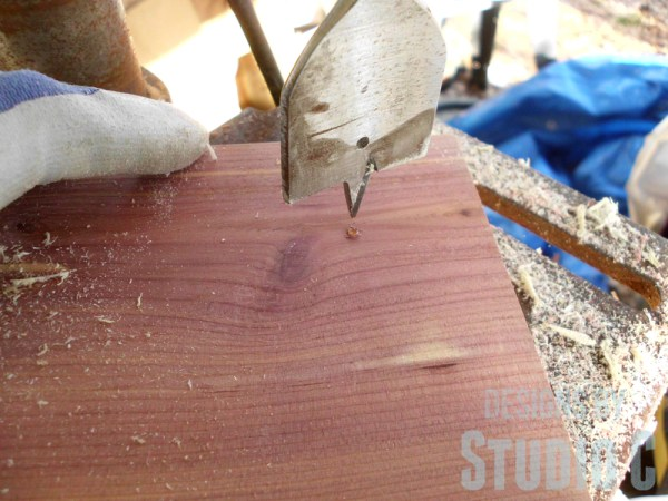 how to cut handles in wood SANY2888