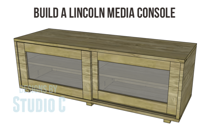 free furniture plans to build a Lincoln Media Console_Copy