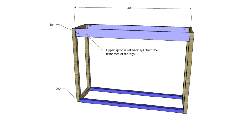 honfleur console table plans_FB Aprons