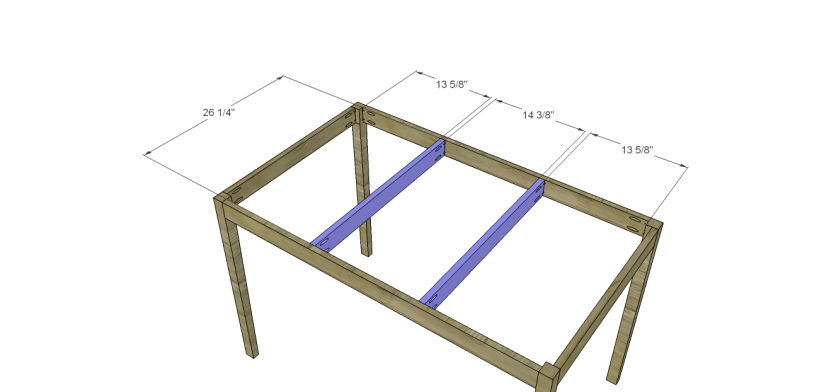 free furniture plans build hexagon dining table_Top Supports