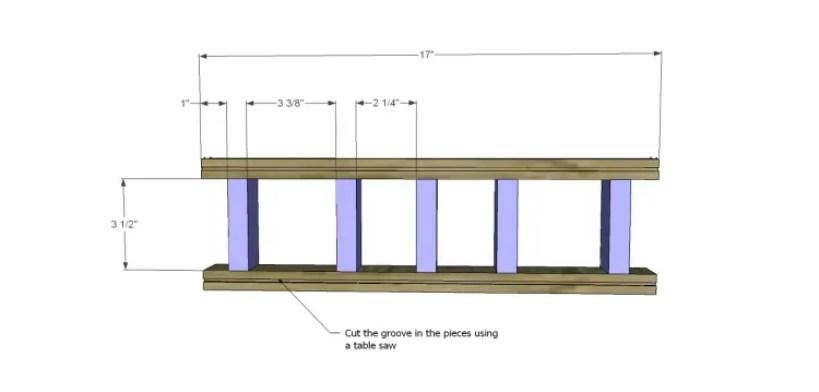 plans build bandengan side table_Stretchers 1