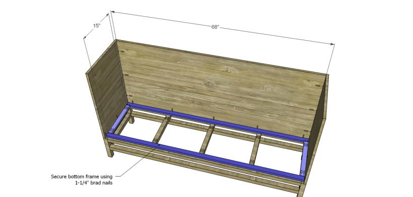 plans build esmerelda buffet-Bottom Frame