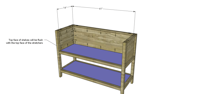 ronen sideboard plans-Shelves