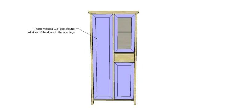Allie Armoire Cabinet Plans-Doors 2