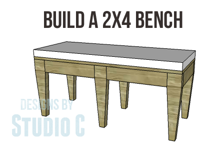 DIY 2x4 Bench Plans-Copy