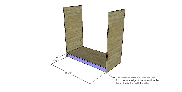 DIY Plans to Build a Howell Bar Cabinet_Kick Plates