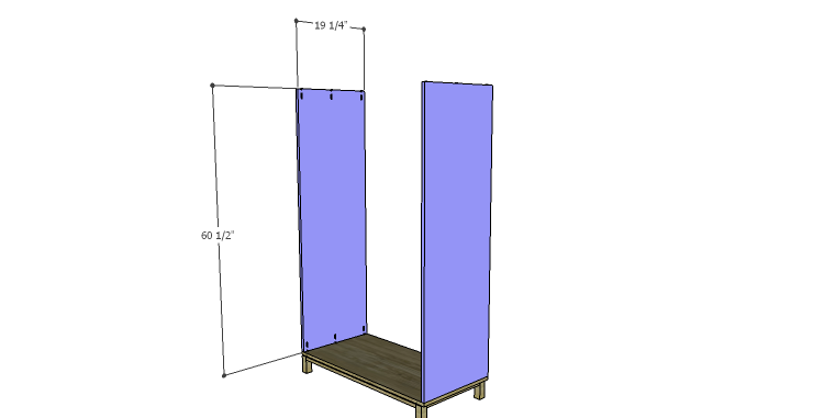 DIY Plans to Build a Starling Armoire_Sides