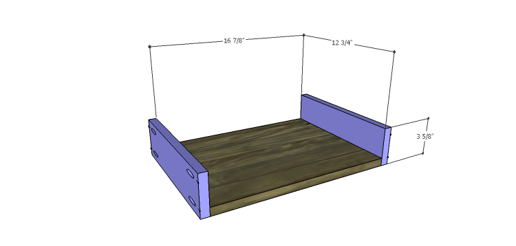 DIY Plans to Build the Ava Chest of Drawers_Sm Drawer BS