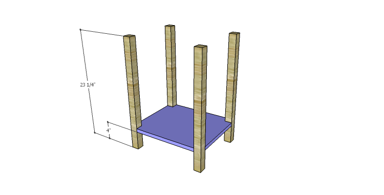 DIY Plans to Build a Valerie Nightstand_Legs