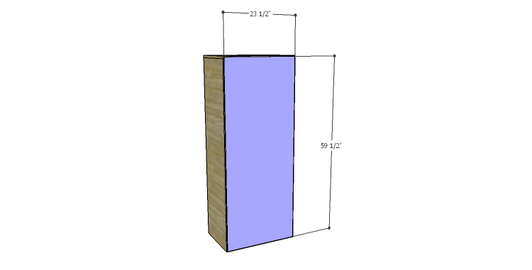 DIY Plans to Build a Daisy Bookcase_Back