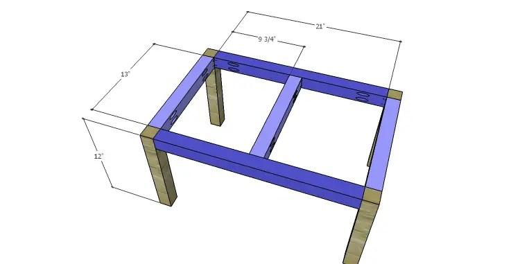 DIY Plans to Build a Daisy Bookcase_Base 1