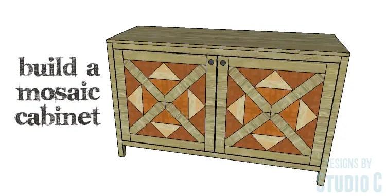 DIY Plans to Build a Mosaic Cabinet_Copy