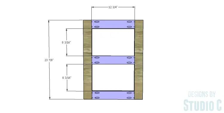DIY Plans to Build a Connor Media Console_Door Frame