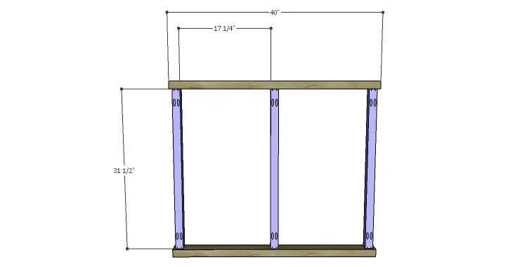 DIY Plans to Build a Davidson Console Table_Frame 1