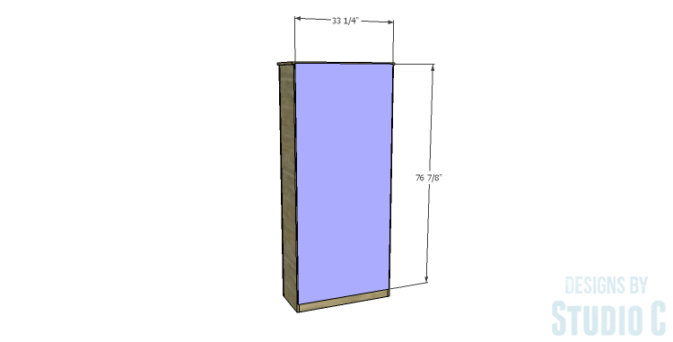 DIY Plans to Build a Bombay Bookcase_Back