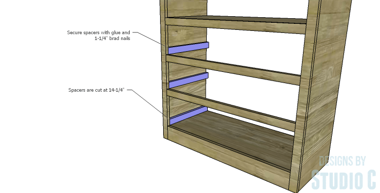 DIY Plans to Build a Bombay Bookcase_Spacers