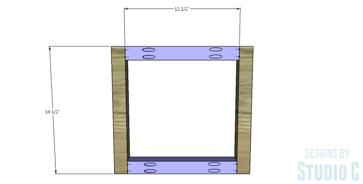 DIY Plans to Build a Tray Side Table_Sides