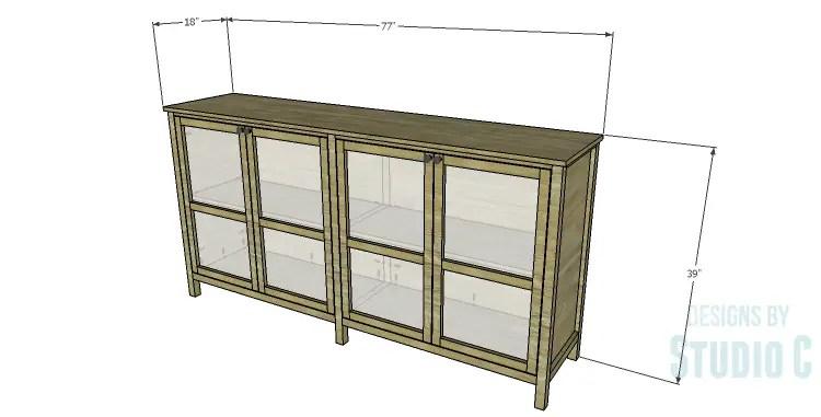 DIY Plans to Build a Frances Buffet