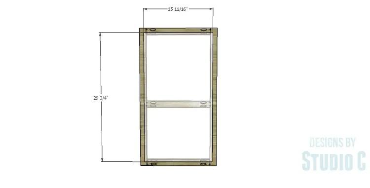 DIY Plans to Build a Frances Buffet_Door Panel