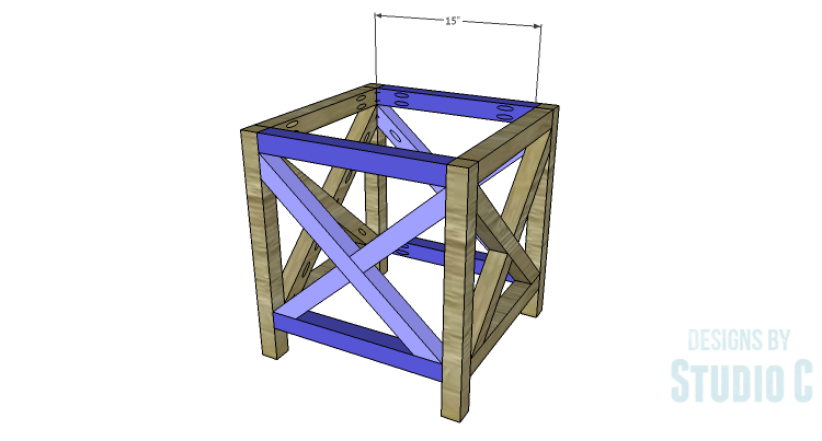 DIY Plans to Build a Riley End Table_Ends