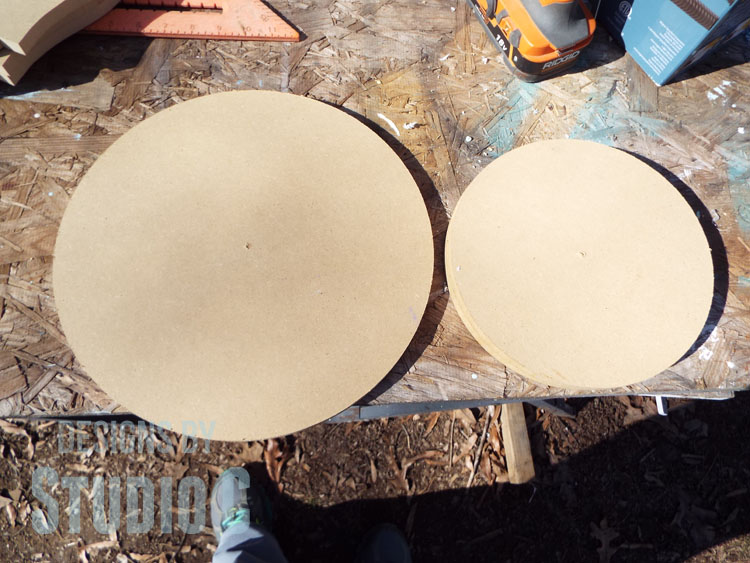 How to Install Lazy Susan Hardware_MDF Circles
