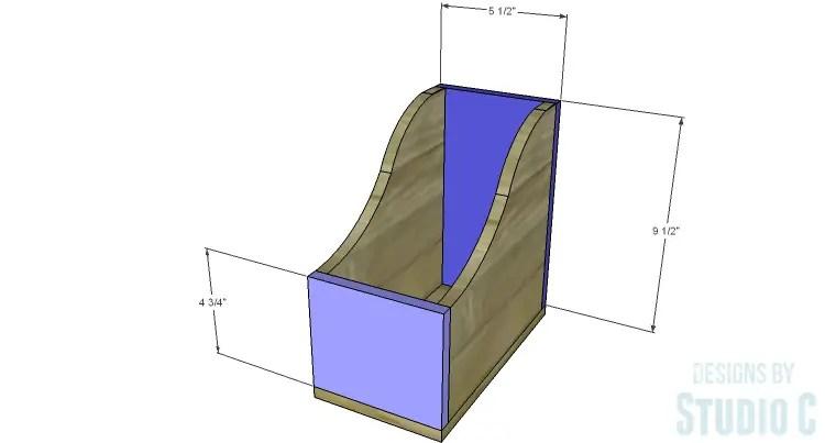 DIY Plans to Build Desk Organizers_File Holder FB