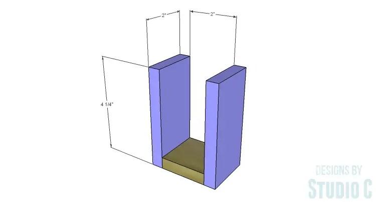 DIY Plans to Build Desk Organizers_Pencil Cup Sides
