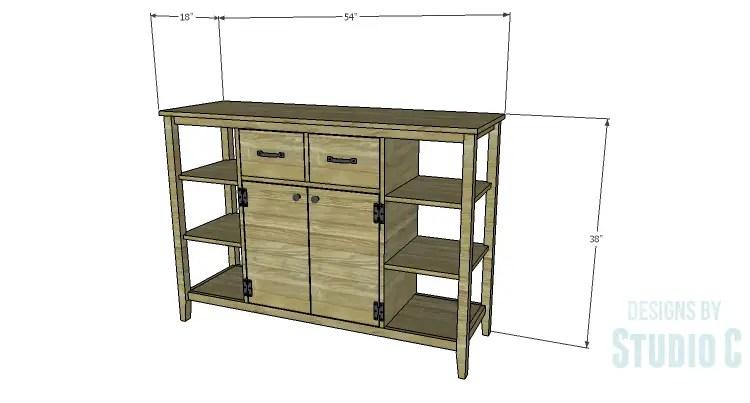 DIY Plans to Build an Arden Buffet