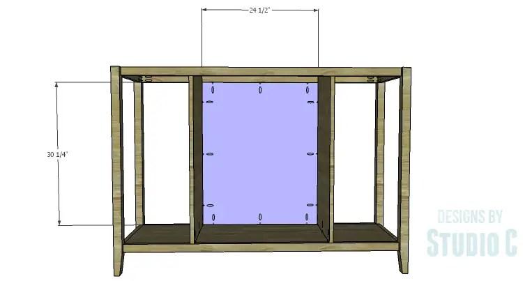 DIY Plans to Build an Arden Buffet_Back