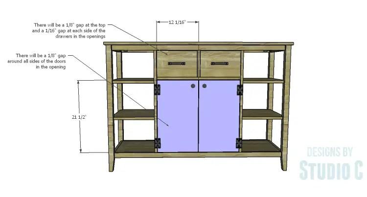 DIY Plans to Build an Arden Buffet_Doors & Drawers