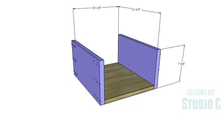 DIY Plans to Build an Arden Buffet_Drawer BS