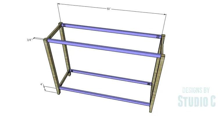 DIY Plans to Build an Arden Buffet_Stretchers