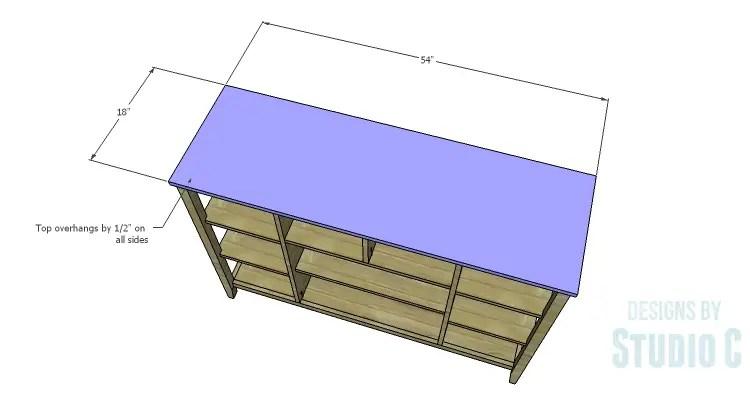 DIY Plans to Build an Arden Buffet_Top