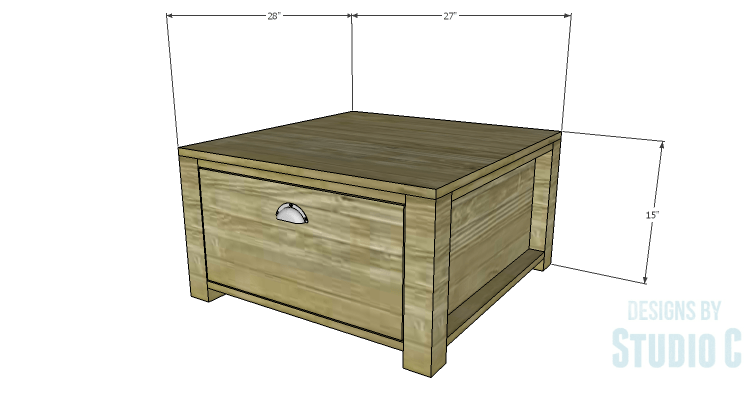 Diy Plans To Build Single Washer And Dryer Pedestals