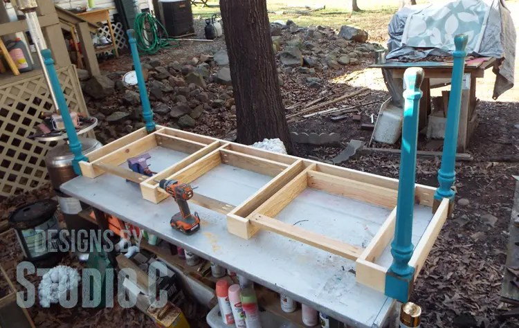 DIY Plans to Build a Desk with an Old Door_Frame