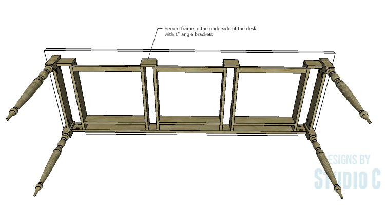 DIY Plans to Build a Desk with an Old Door_Top