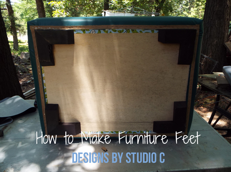 How to Make Furniture Feet