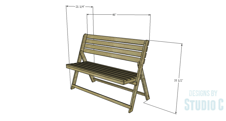 Diy Plans To Build A Folding Bench