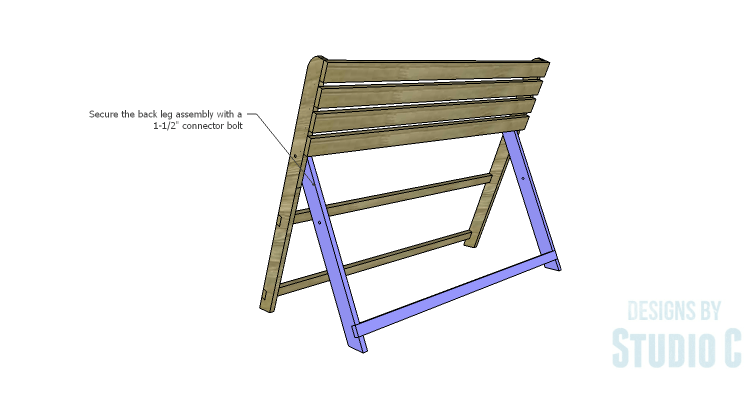 DIY Plans to Build a Folding Bench_Back Legs 3