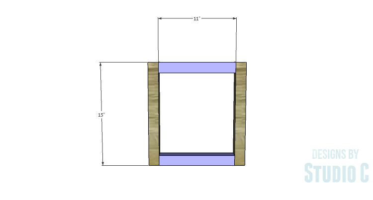 DIY Plans to Build a Katherine Buffet_Base Sides