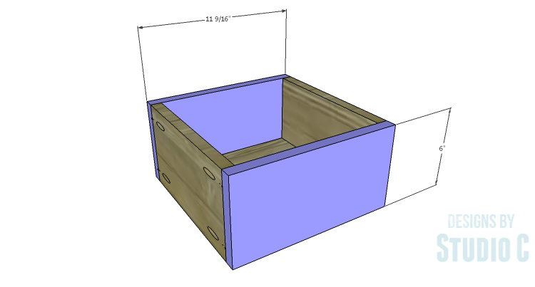 DIY Plans to Build a Katherine Buffet_Drawer FB