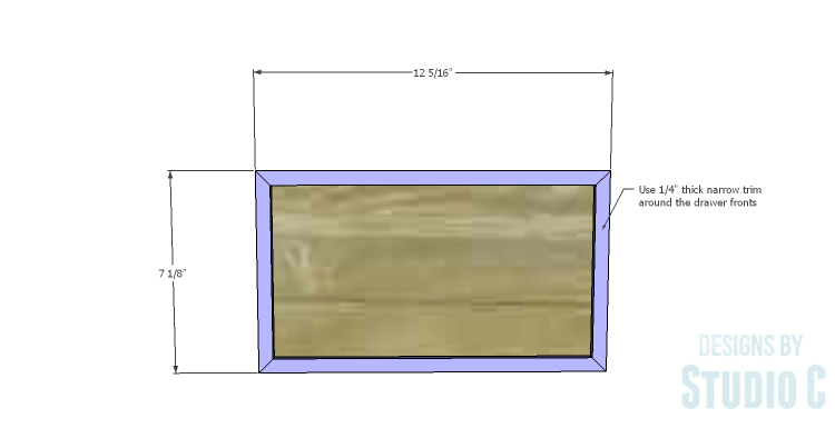 DIY Plans to Build a Katherine Buffet_Drawer Fronts 1