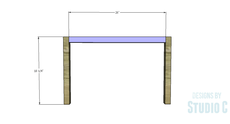 DIY Plans to Build a Curved Base Coffee Table_Sides