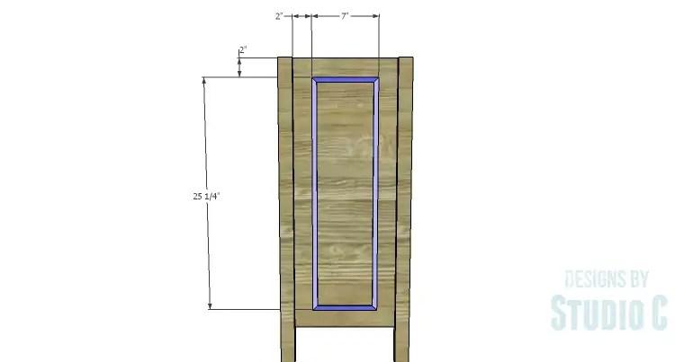 DIY Plans to Build a Trim Detail Cabinet_Side Trim