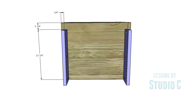 DIY Plans to Build a Mayweather Nightstand_Base